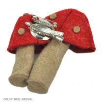 Mushroom Felt Accessory Clip/Pin