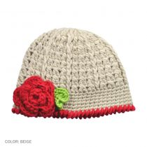 Flower Beanie - Toddler