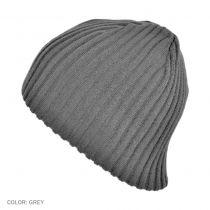 Rib Knit Beanie Hat in