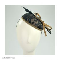 Lace Pillbox Hat