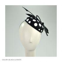 Polka Dot Pillbox Hat