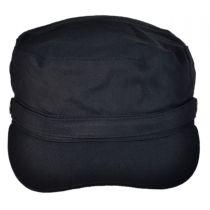 Herringbone Cotton Cadet Cap in