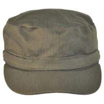 Herringbone Cotton Cadet Cap alternate view 6