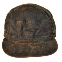Weathered Cotton Army Cap