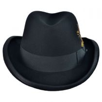 Wool Homburg Hat