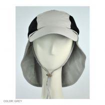 UV Protection Neck Flap Baseball Cap in