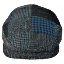 Patchwork Donegal Tweed Wool Ivy Cap alternate view 17