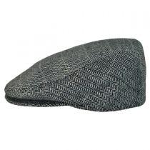 Tiber Herringbone Flat Cap
