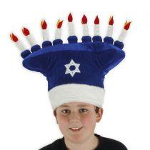 Menorah Hat alternate view 2