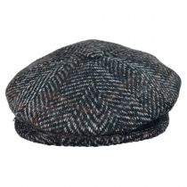 Fred Mix Herringbone Newsboy Cap