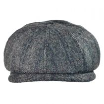 English Check Newsboy Cap