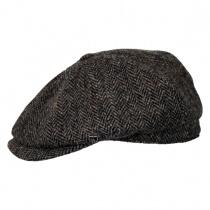Harris Tweed Newsboy Cap