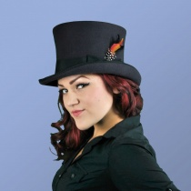 B2B Jaxon Victorian Top Hat (Black)