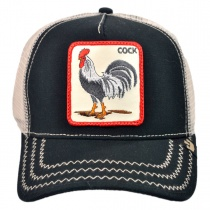 Cock Mesh Trucker Snapback Baseball Cap alternate view 4