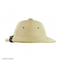 B2B Indian Pith Helmet Khaki