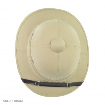 B2B Indian Pith Helmet Alternate View