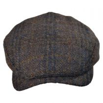 Melange Harris Tweed Ivy Cap with Earlaps