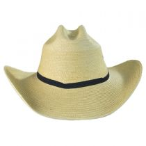 Cattleman Guatemalan Palm Leaf Straw Hat