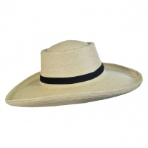 Sam Houston Planter Guatemalan Palm Leaf Straw Hat alternate view 3