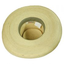 Sam Houston Planter Guatemalan Palm Leaf Straw Hat alternate view 4