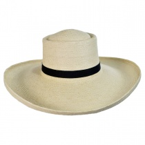 Sam Houston Planter Guatemalan Palm Leaf Straw Hat alternate view 6