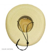 Gus Wide Brim Guatemalan Palm Leaf Straw Hat alternate view 7