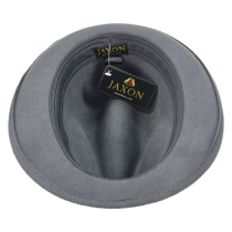 Blues Crushable Wool Felt Trilby Fedora Hat alternate view 22
