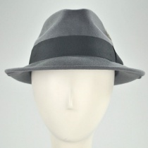 Blues Crushable Wool Felt Trilby Fedora Hat alternate view 90