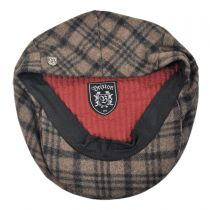 Barrel Plaid Wool Blend Ivy Cap in