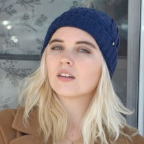 Cable Knit Beanie Hat in