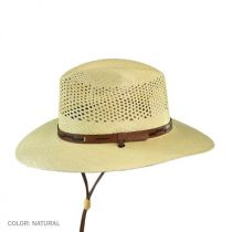 Airway Chincord Panama Straw Safari Hat