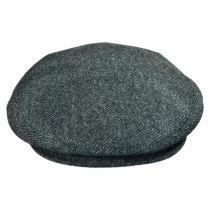 Wool Cashmere Herringbone Ivy Cap