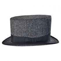 English Herringbone Top Hat