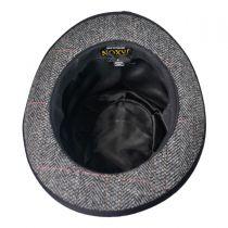 English Herringbone Top Hat