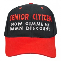 Village Hat Shop - Senior Citizen Discount Baseball Cap