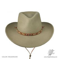 Santa Fe Wool Felt Western Hat in