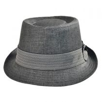Pork Pie-Chevron Band Hat