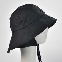 The Sou'wester Waxed Cotton Bucket Hat alternate view 2