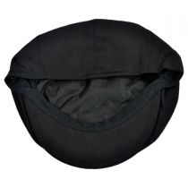 Cotton Pique Newsboy Cap in