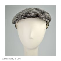 Houndstooth Ivy Cap with Earflaps
