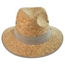 Cork Safari Fedora Hat