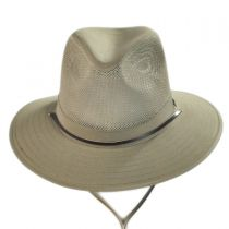 Mesh Crown Aussie Hat in