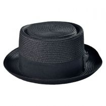 Toyo Straw Braid Pork Pie Hat alternate view 2
