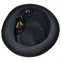 Toyo Straw Braid Pork Pie Hat alternate view 4
