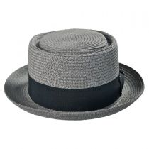 Toyo Straw Braid Pork Pie Hat alternate view 7