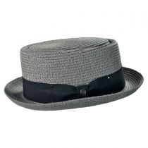 Toyo Straw Braid Pork Pie Hat alternate view 9