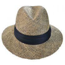 Seagrass Straw Safari Fedora Hat alternate view 2