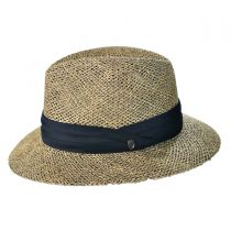 Seagrass Straw Safari Fedora Hat alternate view 3