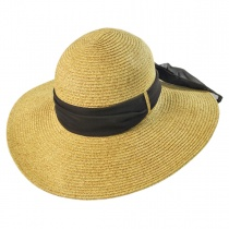 Beach Side Toyo Straw Sun Hat