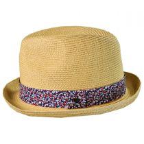 Thea Rolled Brim Fedora Hat